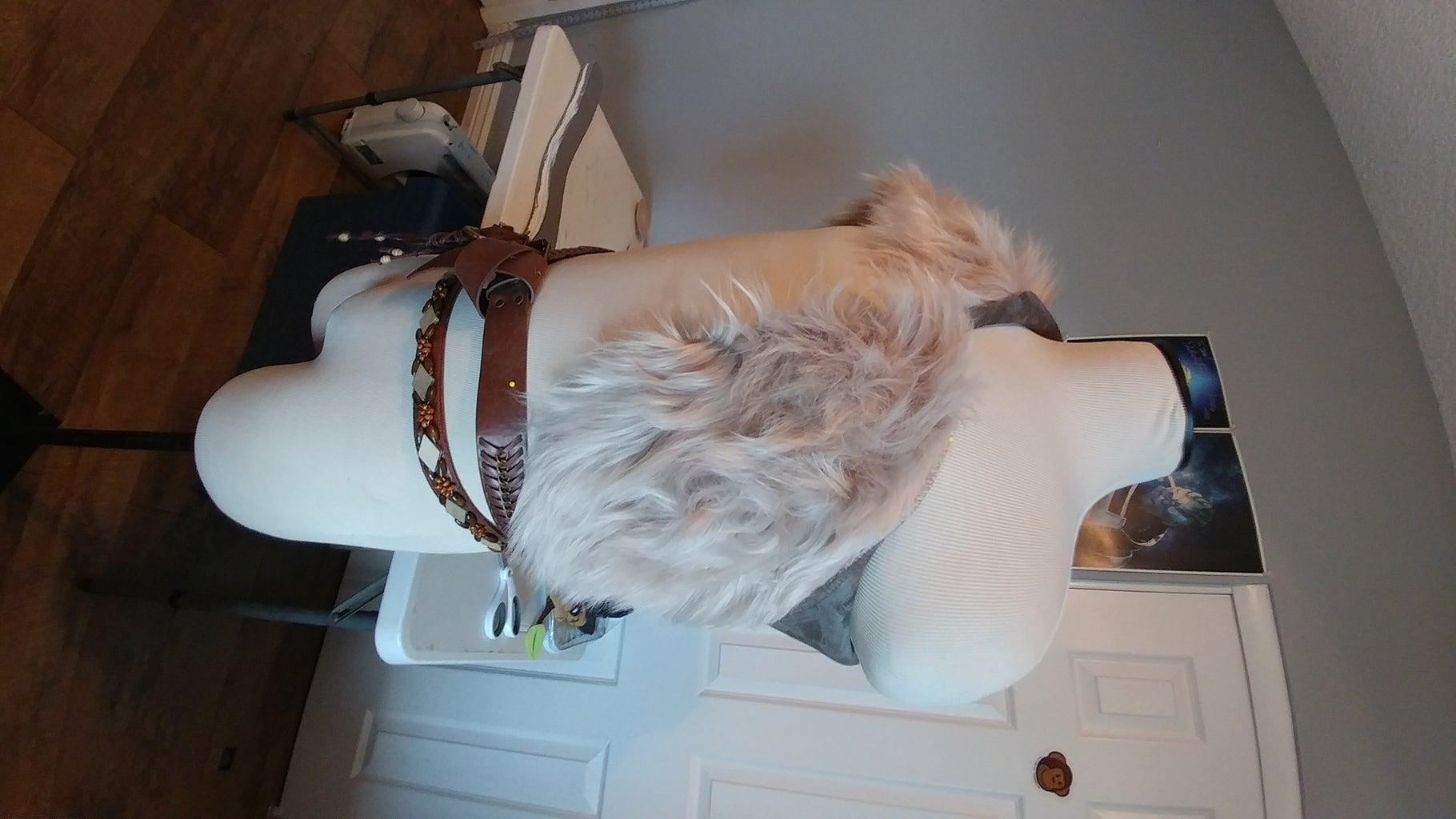 Fur and Pauldron