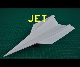 How to Fold a Super Cool Paper Jet That FLIES