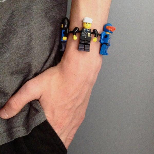 Lego Minifigure Bracelet