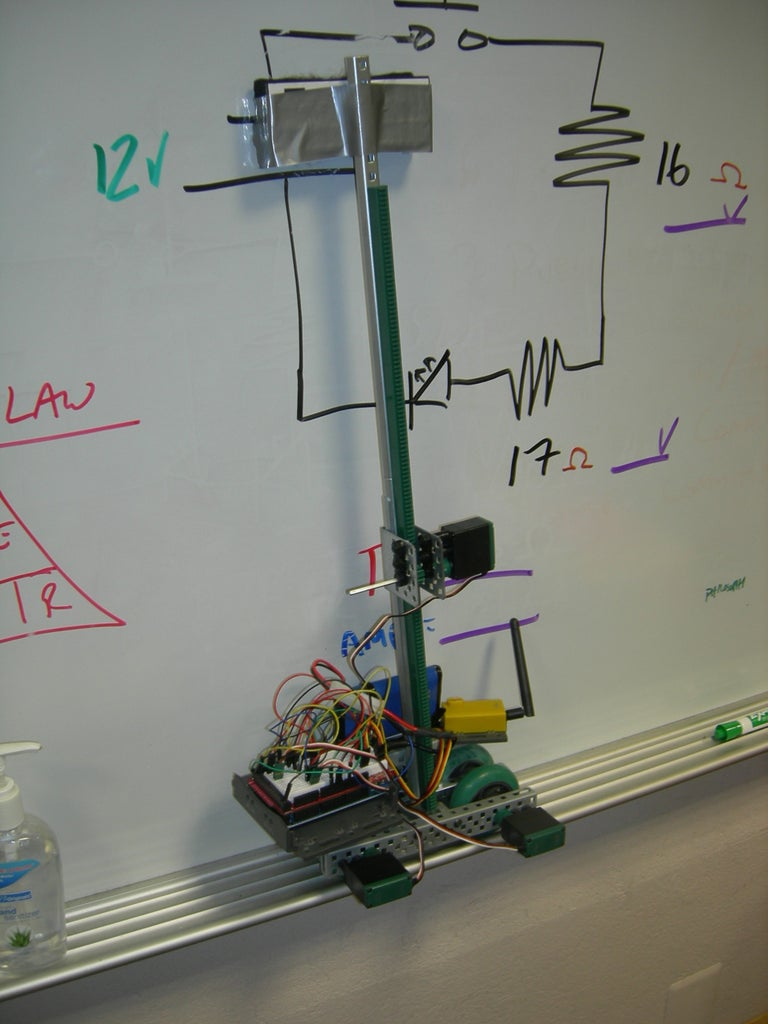 Whiteboard Erasing Robot