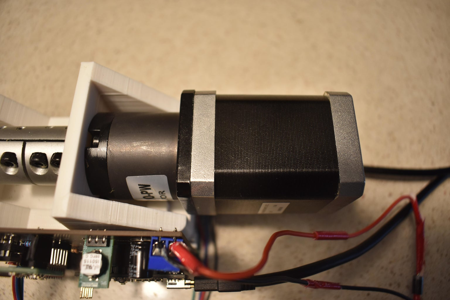 Component Selection - Stepper Motor