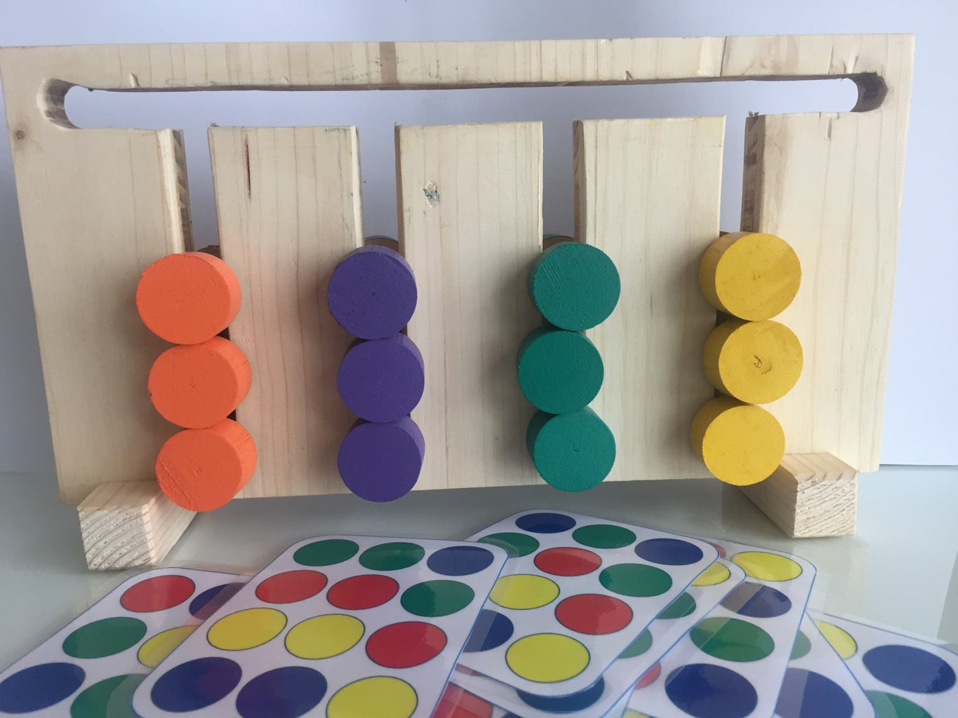 2D Rubik Game for Toddlers