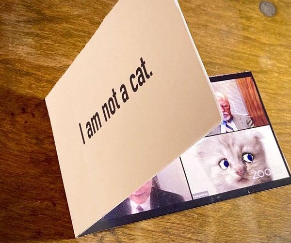 I AM NOT a CAT Mechanical Card