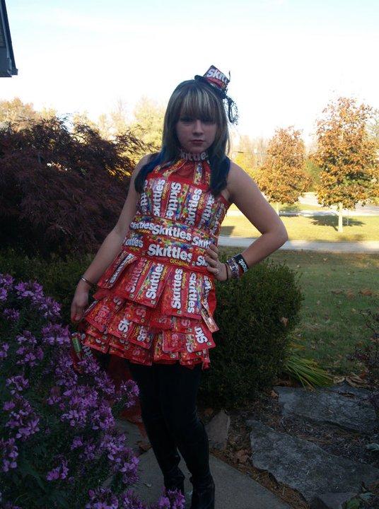 Skittle Wrapper Dress!