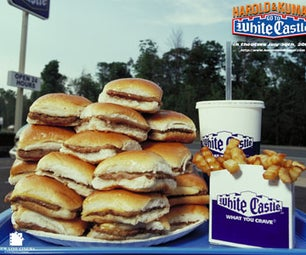 White Castle Hamburgers AT HOME!