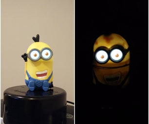 DIY Minion Night Light