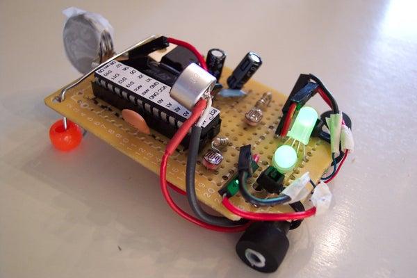 Tiny Altoid Tin Robot With Personality