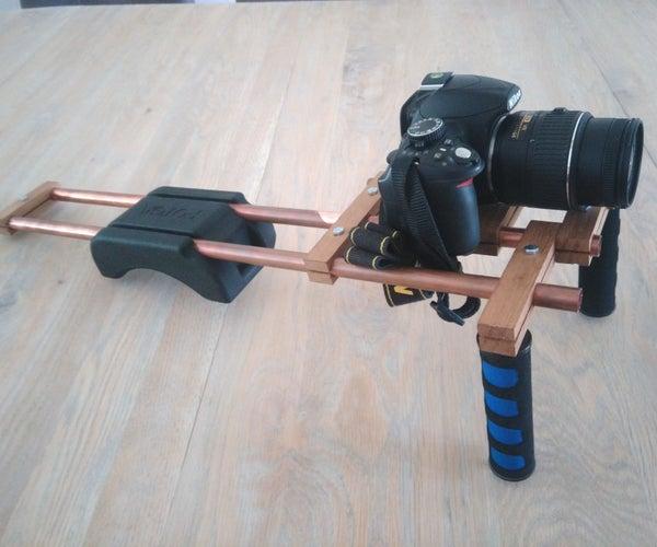 DIY Shoulder Rig for DSLR
