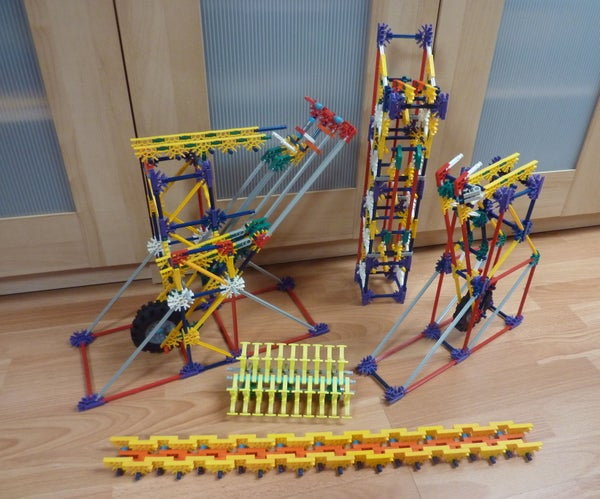 Knex Ball Machine: Revolution, Elements
