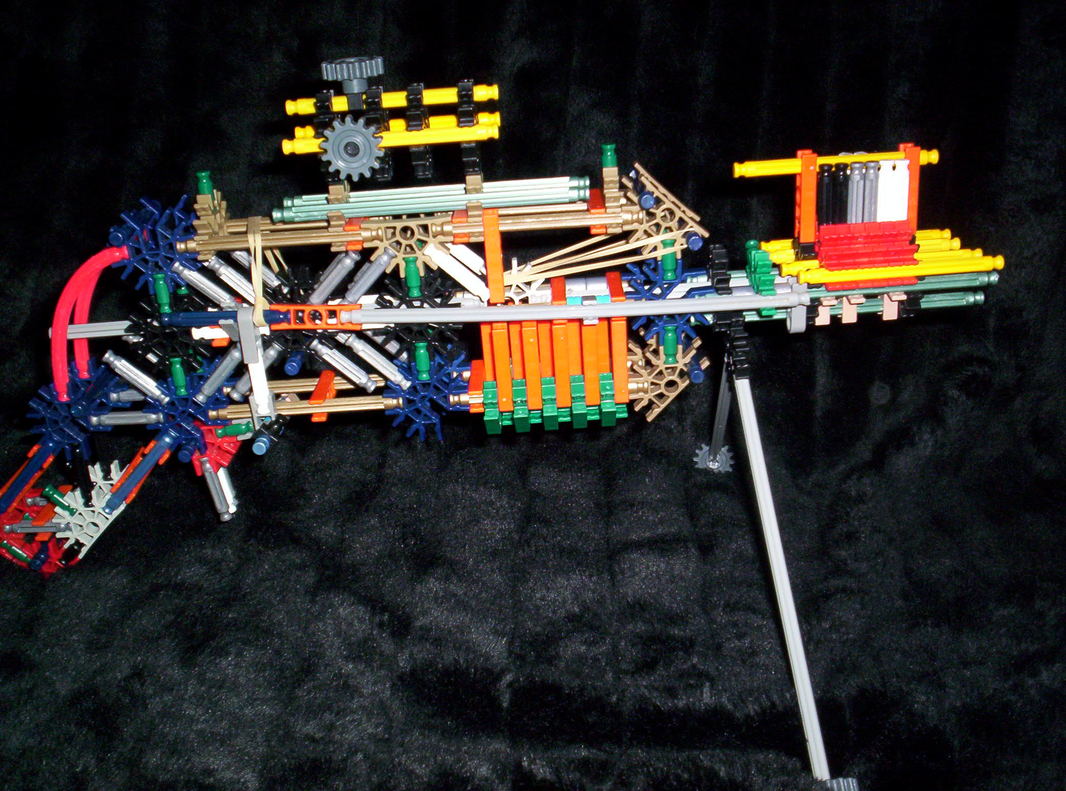 True Trigger Auto Loading Knex Rifle/Sniper, by bannana inventor