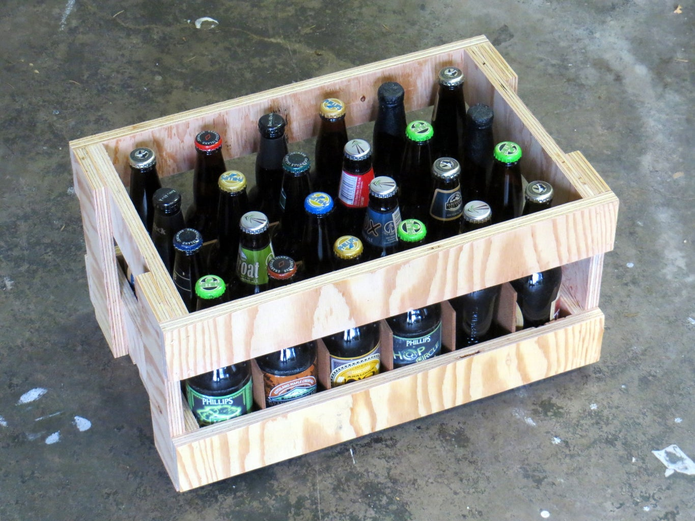 Combine Parts and Add Beer