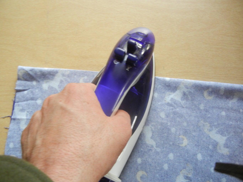 Step 5 Iron the Seam