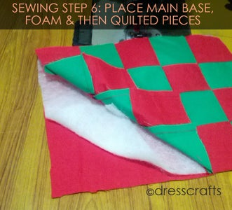 PLACEMATS SEWING STEP 6