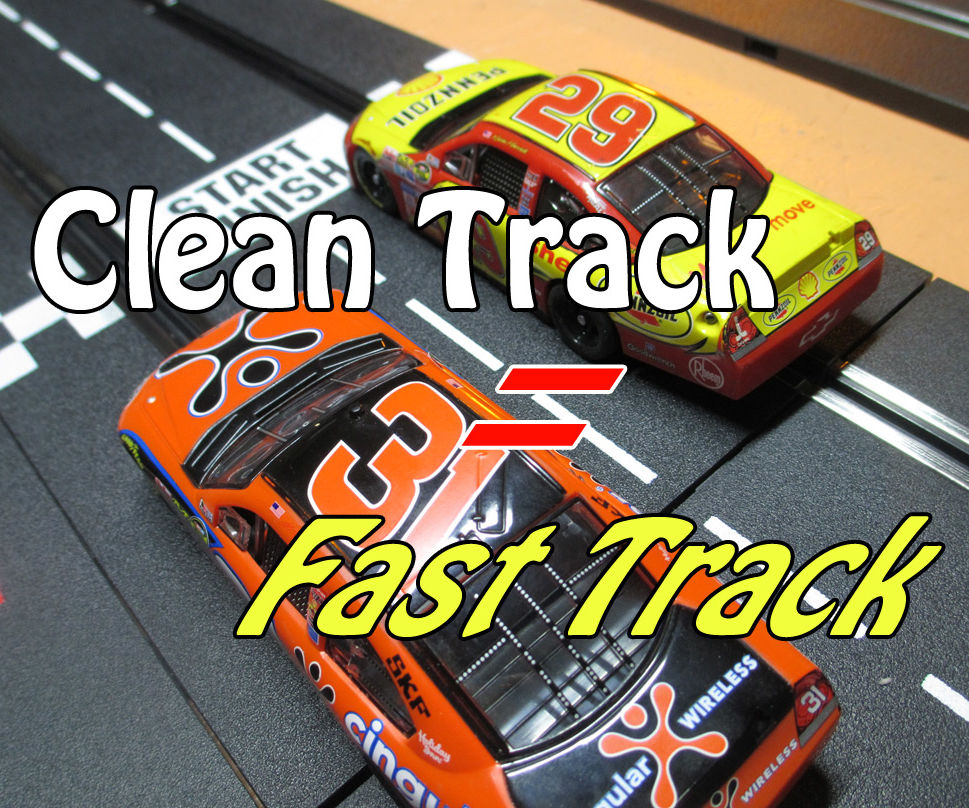 Slot Car Track and Car Cleaning Tips