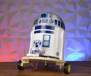 3D Printed Obstacle Avoiding R2D2 Using an Arduino Uno in 13 Steps