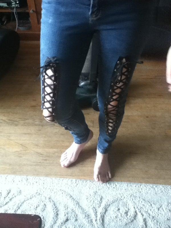 DIY- Corset Jeans