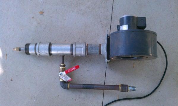 Natural Gas Burner V2