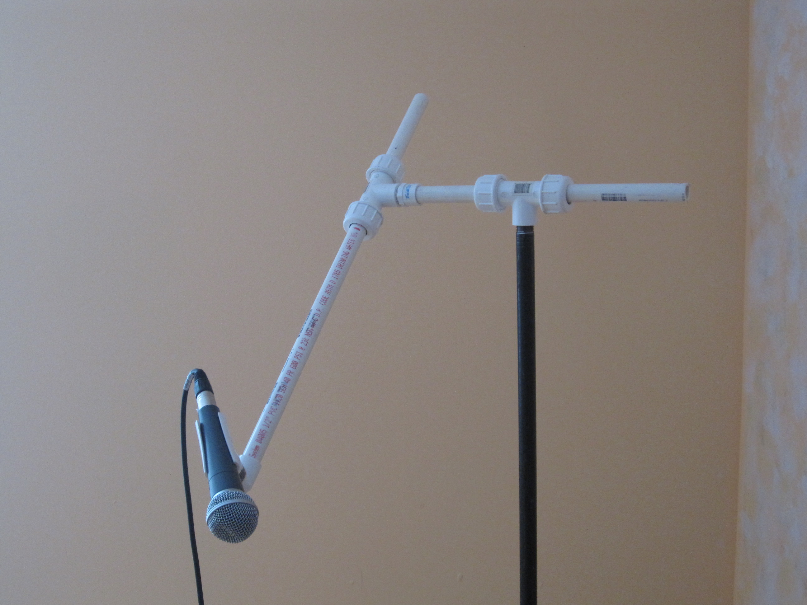 DIY Microphone Stand