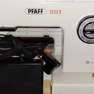 Replacing the Presser Foot Lifter on a Pfaff 1200 Sewing Machine