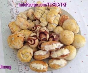 Indonesian Mini Sweet Buns (Roti Unyil)