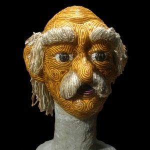 Old Man String Mask