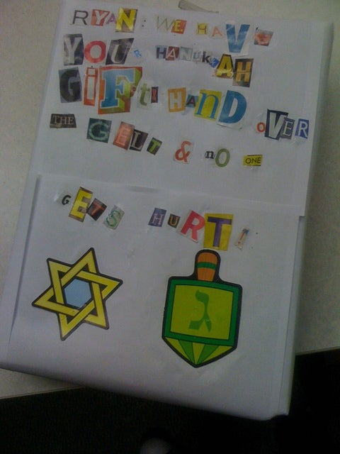 Ransom Note Present - Giftnapping