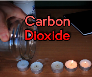 Carbon Dioxide VS Candle - Experiment 1/14 | #Quarantine