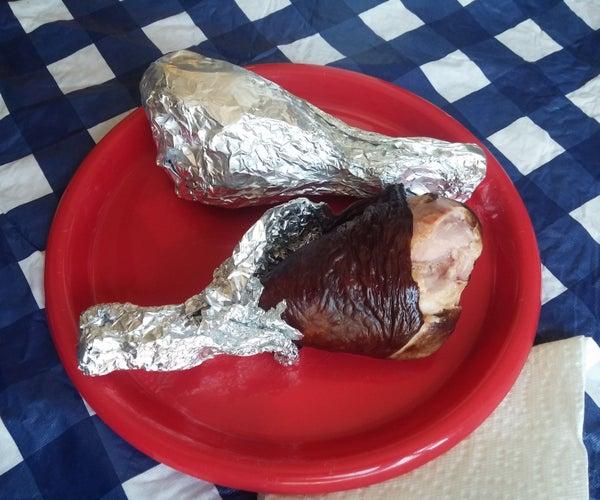 Smoked Turkey Legs, County Fair Style