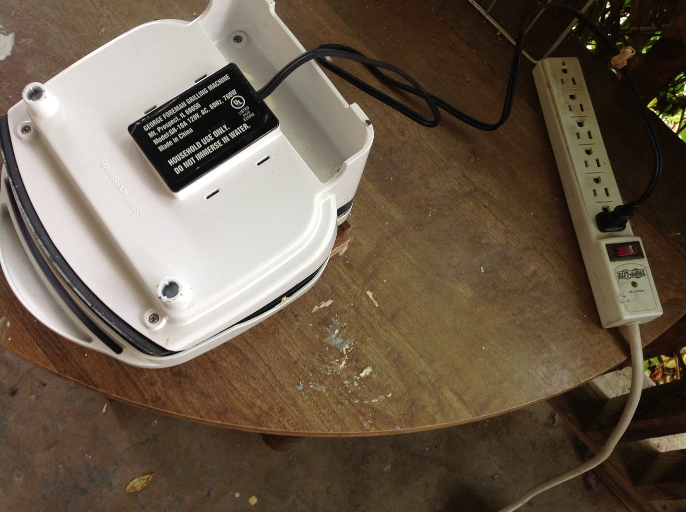 Setting the Iron Up to Melt Plastic.
