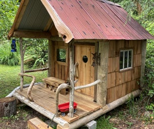 Rustic DIY Play House