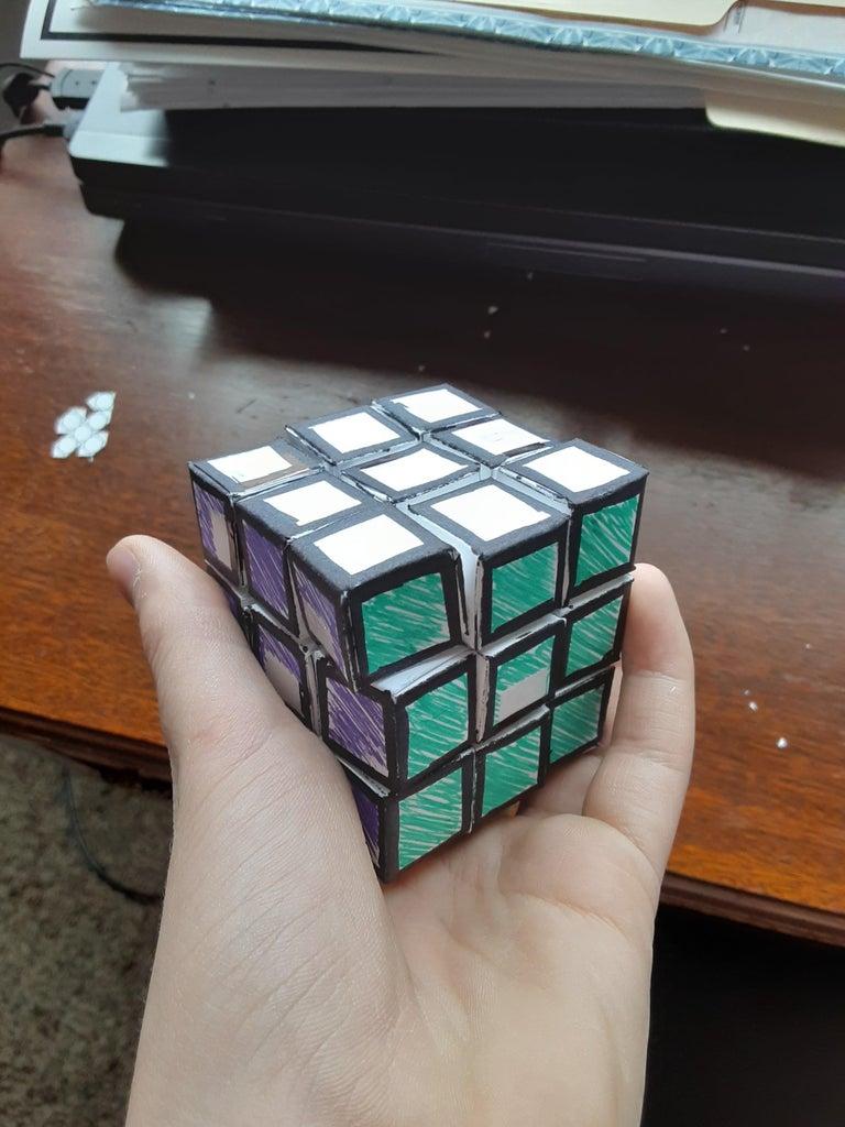 Fully Paper Rubik's Cube!