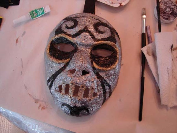 Harry Potter: Make a Death Eater Mask!