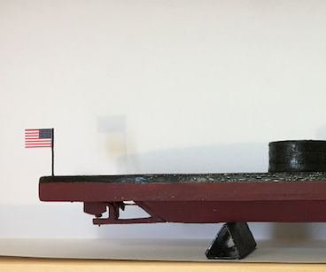 A Cardboard Model of the USS Monitor