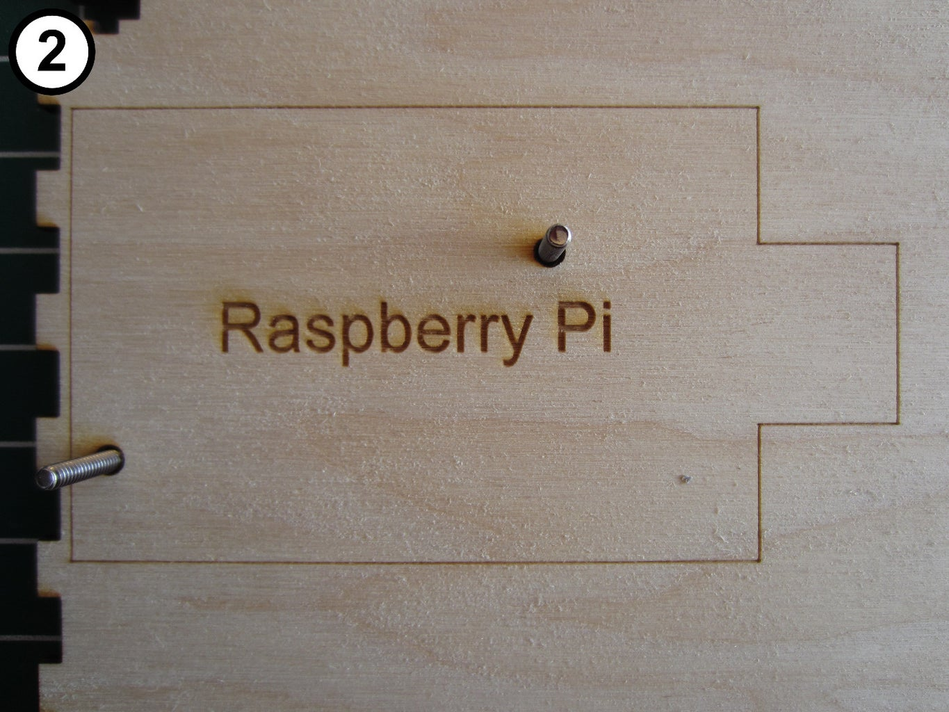 Attach the Raspberry Pi to the Bottom Panel