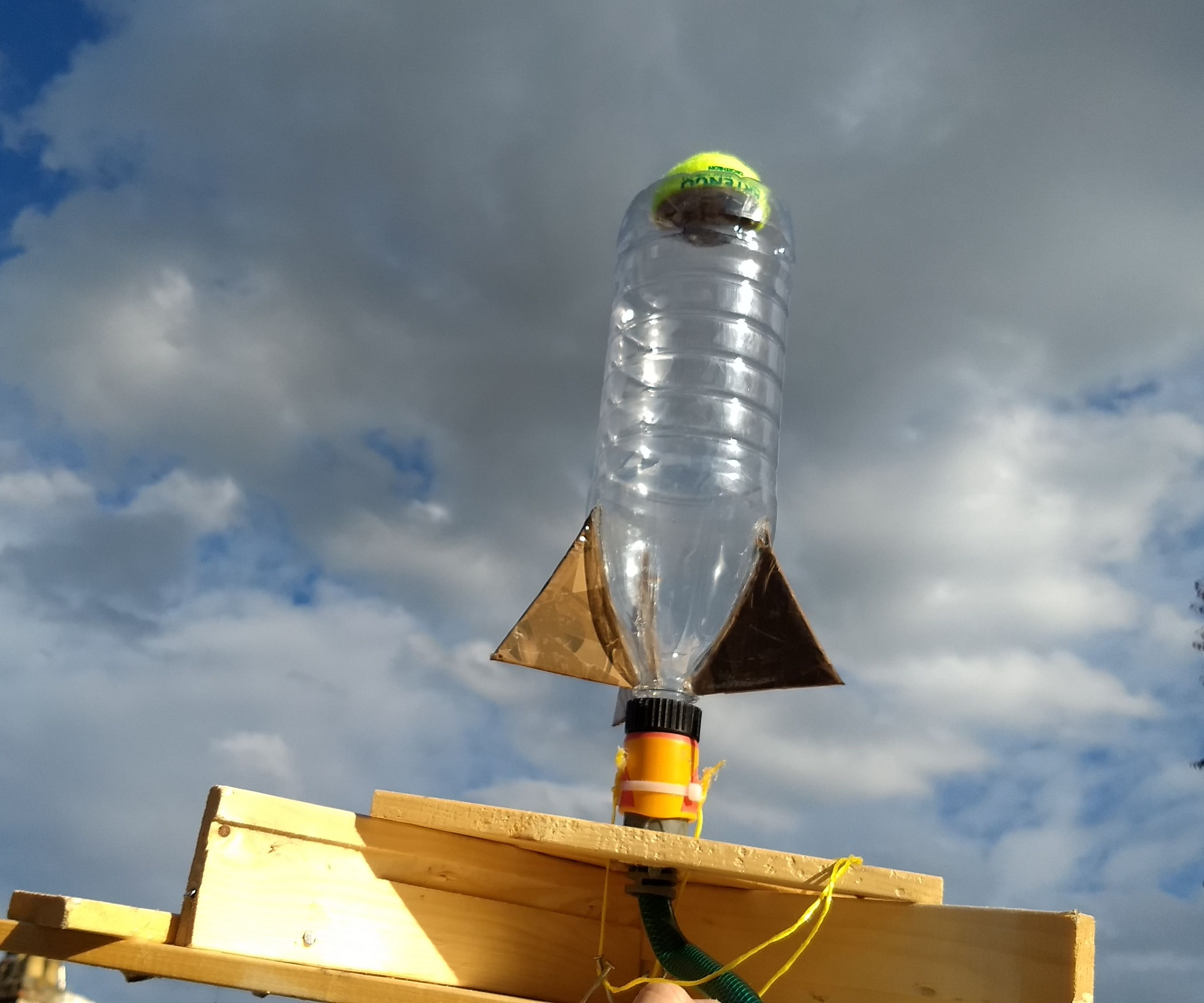 Simplified Water Rocket