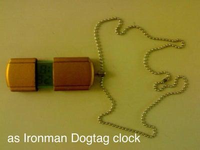 Ironman Dogtag