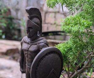 希腊战士(赤土陶器)