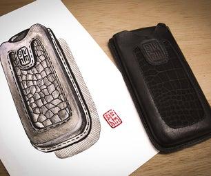 DIY Leather Phone Case