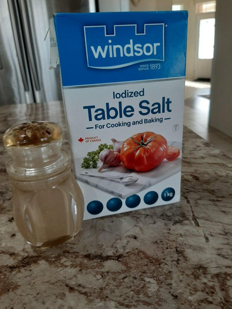 Sprinkle Salt and Pepper