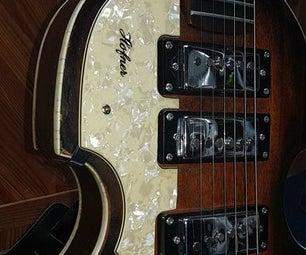 Hofner Bass Stratocaster
