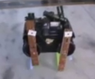 4 Legged Robot using a toy car