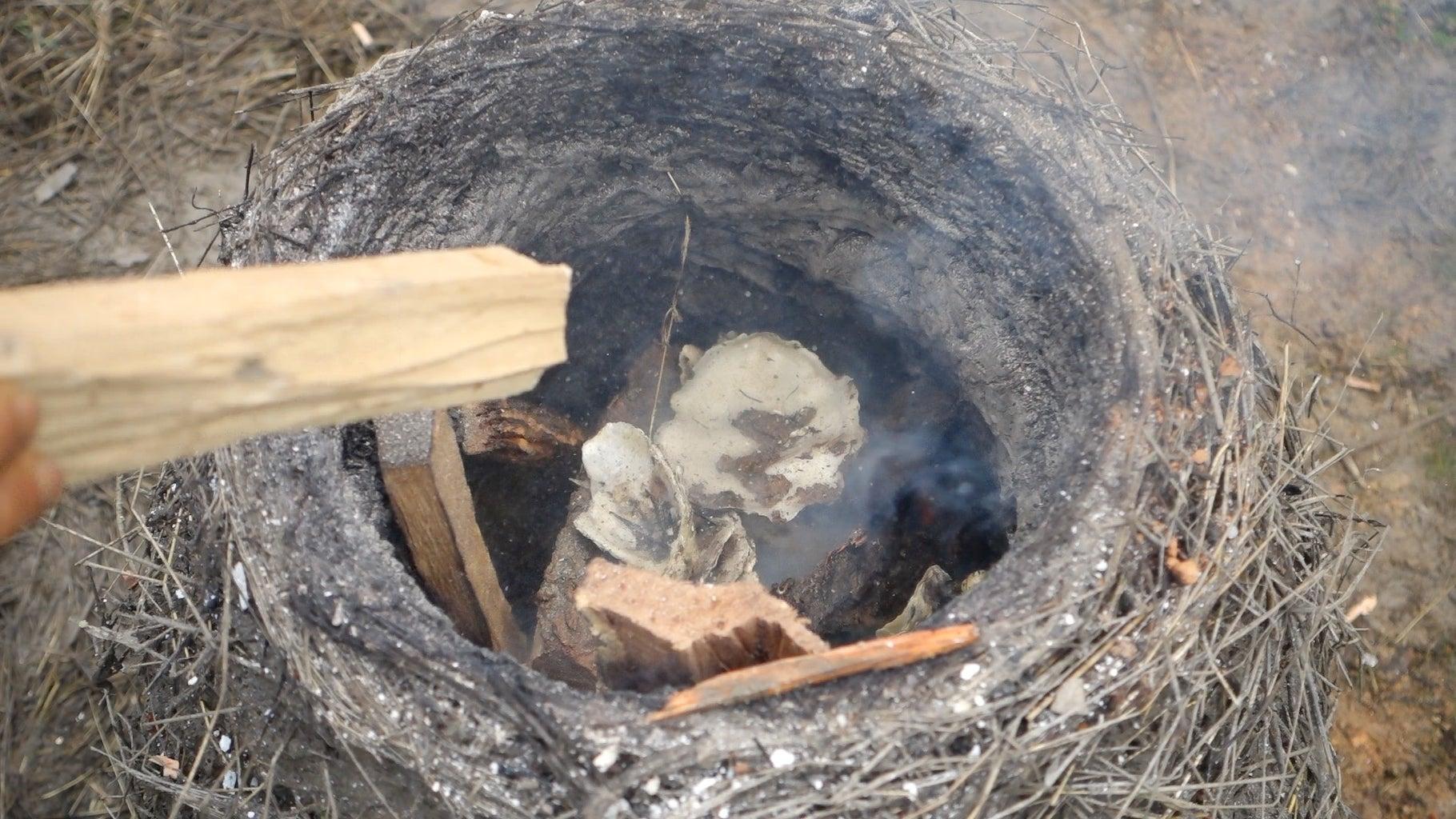 FIRING THE KILN
