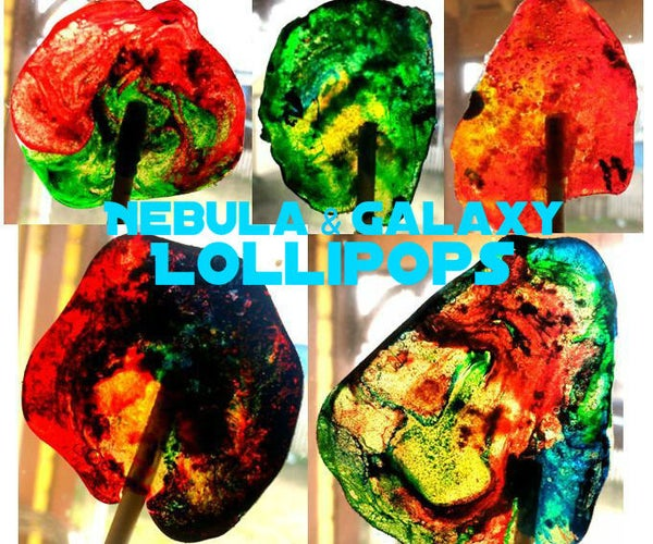 Nebula & Galaxy Lollipops