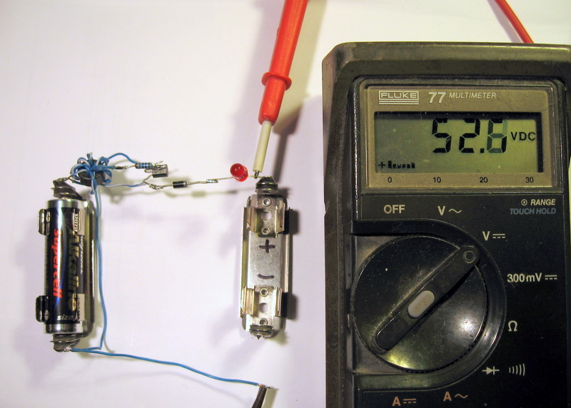 Joule Thief Charger