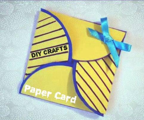 DIY Crafts - Simple Paper Card