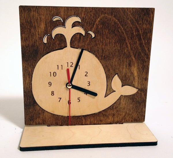 Whale Desk Clock