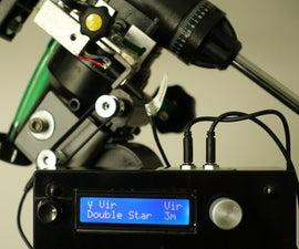 SpotNik - StepTo / PushTo / Digital Setting Circles for EQ Mounted Telescopes Based on Arduino
