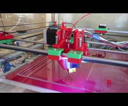 Homing a 3D Printer Using Force-sensitive Resistor