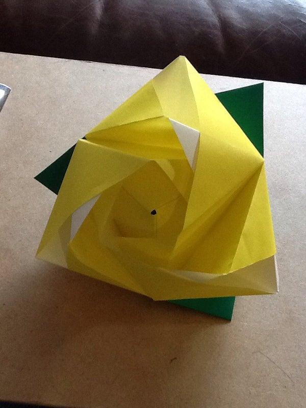 Origami Magic Rose!