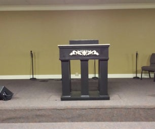 Modern-Style Pulpit
